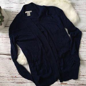 H&M Navy Blue Cardigan